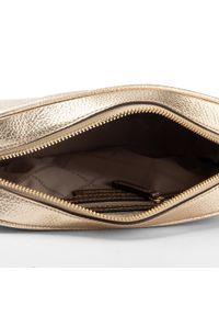 Złota torebka Michael Kors zdobiona, z aplikacjami