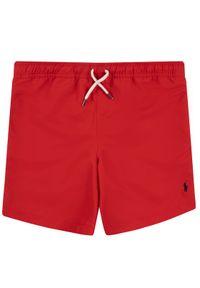 Czerwone kąpielówki Polo Ralph Lauren