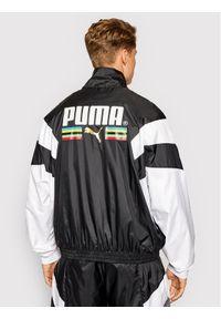 Puma Kurtka przejściowa TFS Worldhood Track Top 597610 Czarny Regular Fit. Kolor: czarny