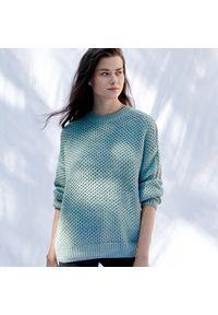 Turkusowy sweter Sinsay