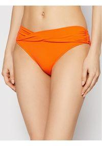 Pomarańczowe dół bikini Seafolly
