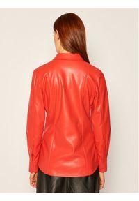 Czerwona koszula MSGM
