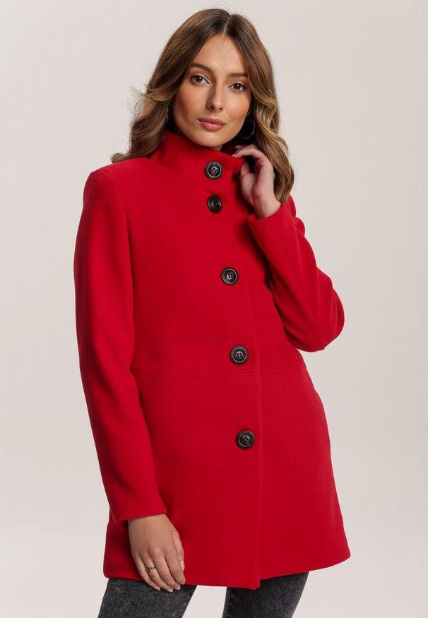 Czerwone krótki płaszcz Renee