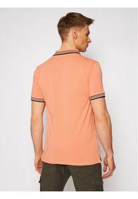 Pomarańczowa koszulka polo Guess polo