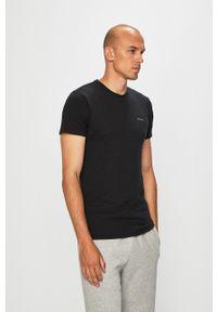 Diesel - T-shirt (3 pack). Kolor: czarny. Materiał: dzianina
