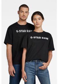 G-Star RAW - G-Star Raw - T-shirt bawełniany x Snoop Dogg. Okazja: na co dzień. Kolor: czarny. Materiał: bawełna. Wzór: nadruk. Styl: casual