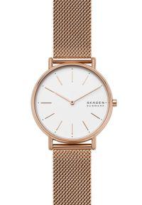 Skagen - Zegarek SKW2784. Kolor: złoty. Materiał: materiał