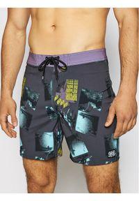 Rip Curl Szorty kąpielowe Mirage Retro Mindsurf CBONK4 Szary Regular Fit. Kolor: szary. Styl: retro
