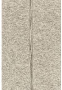Deha - Szorty. Stan: podwyższony. Kolor: szary. Materiał: elastan, materiał, bawełna. Wzór: nadruk #4