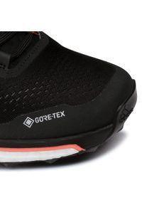 Czarne buty do biegania Adidas na co dzień, z cholewką, Gore-Tex