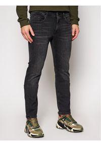 Czarne jeansy Karl Lagerfeld