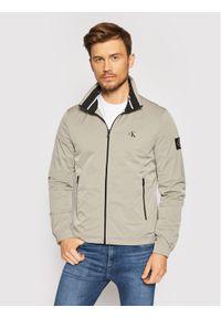 Calvin Klein Jeans Kurtka przejściowa Harrington J30J317139 Szary Regular Fit. Kolor: szary