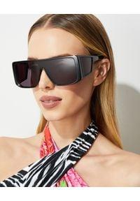 Tom Ford - TOM FORD - Okulary przeciwsłoneczne. Kolor: czarny. Wzór: geometria