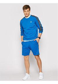 Kappa Bluza Ildan 309004 Niebieski Regular Fit. Kolor: niebieski