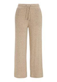 Soyaconcept Bardzo miękkie spodnie Biara beżowy melanż female beżowy L (42). Kolor: beżowy. Materiał: jersey. Długość: do kostek. Wzór: melanż. Styl: sportowy