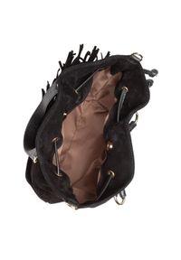 Czarna torebka worek Creole skórzana