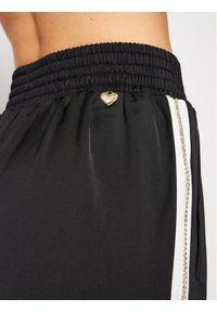 Czarne spodnie dresowe TwinSet