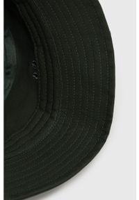 Zielony kapelusz Kappa gładki