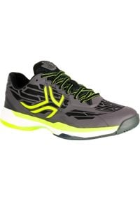 ARTENGO - Buty tenisowe TS990 męskie na każdą nawierzchnię. Kolor: wielokolorowy, szary, niebieski. Materiał: mesh, kauczuk, materiał. Szerokość cholewki: normalna. Sport: tenis