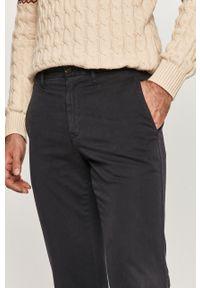 Niebieskie spodnie TOMMY HILFIGER na co dzień, casualowe