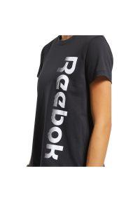 Koszulka damska Reebok Training Essentials Graphic FU2200. Materiał: bawełna. Wzór: aplikacja. Sport: fitness