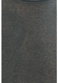 Niebieski sweter Premium by Jack&Jones casualowy, na co dzień