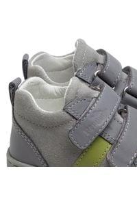RenBut - Sneakersy RENBUT - 13-1429 Popiel Zielony. Kolor: szary. Materiał: skóra, zamsz. Szerokość cholewki: normalna. Sezon: zima