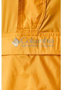 Żółta kurtka columbia krótka, na co dzień