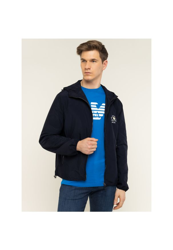Niebieska kurtka Emporio Armani