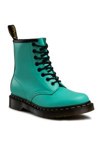 Zielone glany Dr. Martens