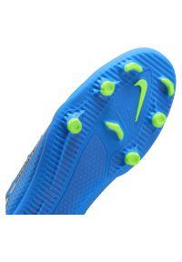 Buty piłkarskie męskie Nike Phantom GT Club CK8459. Materiał: skóra, syntetyk. Szerokość cholewki: normalna. Sport: piłka nożna