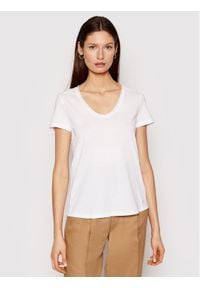 Marc O'Polo T-Shirt M03 2067 51261 Biały Regular Fit. Typ kołnierza: polo. Kolor: biały