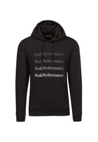 Peak Performance - Bluza PEAK PERFORMANCE GROUND HOOD. Materiał: bawełna. Wzór: gradientowy, napisy