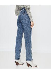 ISABEL MARANT - Niebieskie jeansy Uduard. Okazja: na co dzień. Kolor: niebieski. Długość: długie. Styl: sportowy, casual