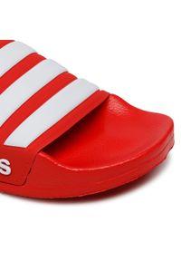 Adidas - Klapki adidas - adilette Shower FY7815 Scarle/Ftwwht/Scarple. Kolor: czerwony. Materiał: materiał. Sezon: lato