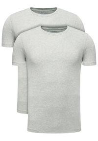 Polo Ralph Lauren Komplet 2 t-shirtów 714621944 Szary Slim Fit. Typ kołnierza: polo. Kolor: szary