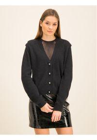 Czarny sweter klasyczny Manila Grace