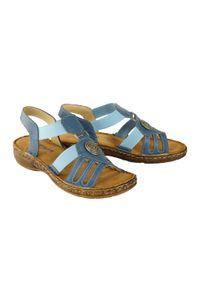 Niebieskie sandały Artiker Relaks