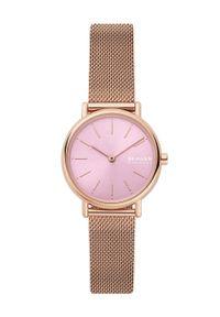 Różowy zegarek Skagen