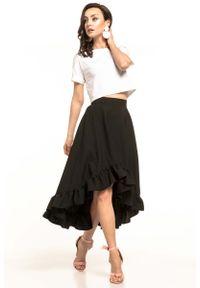 Czarna spódnica rozkloszowana Tessita