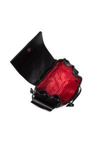 Love Moschino - Plecak LOVE MOSCHINO - JC4133PP1DLA0000 Nero. Kolor: czarny. Materiał: skóra. Styl: klasyczny