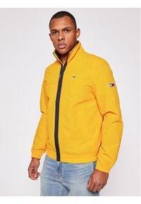 Tommy Jeans Kurtka przejściowa Essential DM0DM10061 Żółty Regular Fit. Kolor: żółty