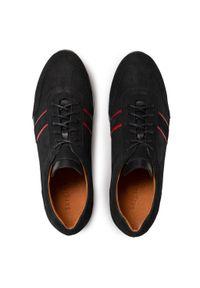 Sergio Bardi - Sneakersy SERGIO BARDI - SB-11-11-001124 401. Okazja: na co dzień. Kolor: czarny. Materiał: skóra, nubuk. Szerokość cholewki: normalna. Styl: sportowy, casual