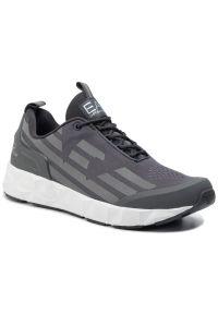 Szare sneakersy EA7 Emporio Armani