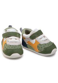 Mayoral - Sneakersy MAYORAL - 9399 Khaki 57. Okazja: na spacer. Zapięcie: rzepy. Kolor: zielony. Materiał: materiał. Szerokość cholewki: normalna