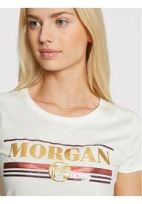 Morgan T-Shirt 211-DITALIE Biały Regular Fit. Kolor: biały