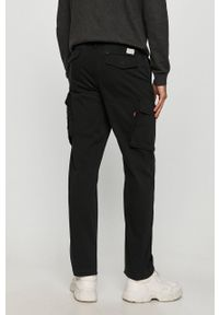Czarne spodnie Levi's® casualowe, na spotkanie biznesowe