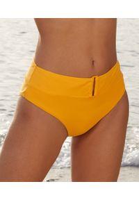 Złote dół bikini Etam z podwyższonym stanem