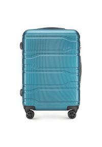 Niebieska walizka Wittchen