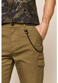 Zielone spodnie medicine na co dzień, casualowe